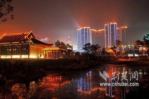 武汉夜景最美的地方图片